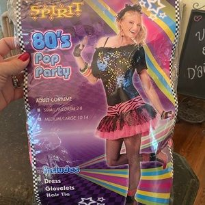 *Spirit* 80's Girl Pop Party Costume Dress READ